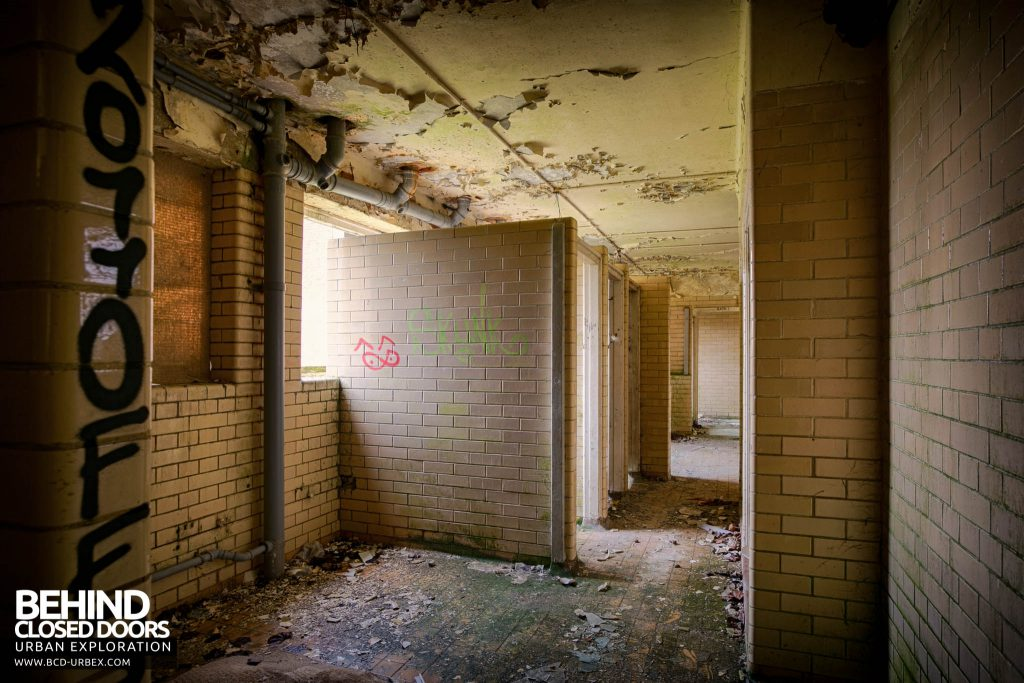 RAF Upwood - Toilet Block