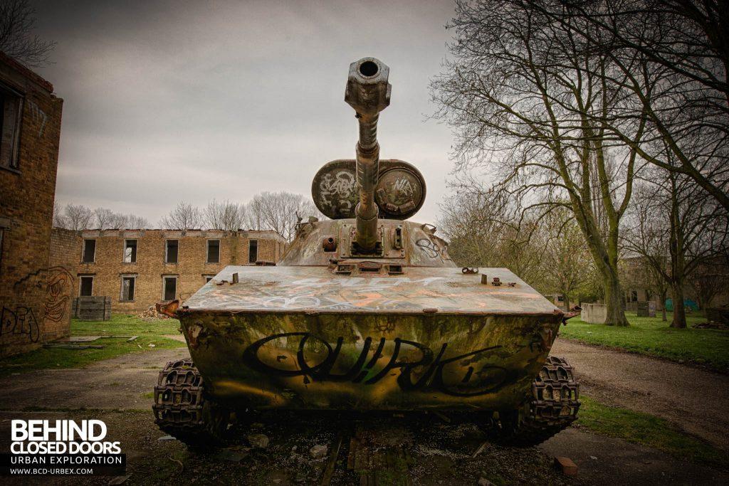 RAF Upwood - Tank!