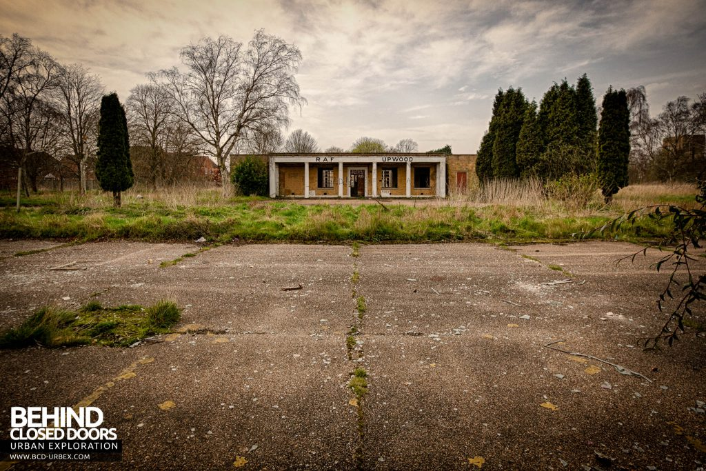 RAF Upwood - Admin Block