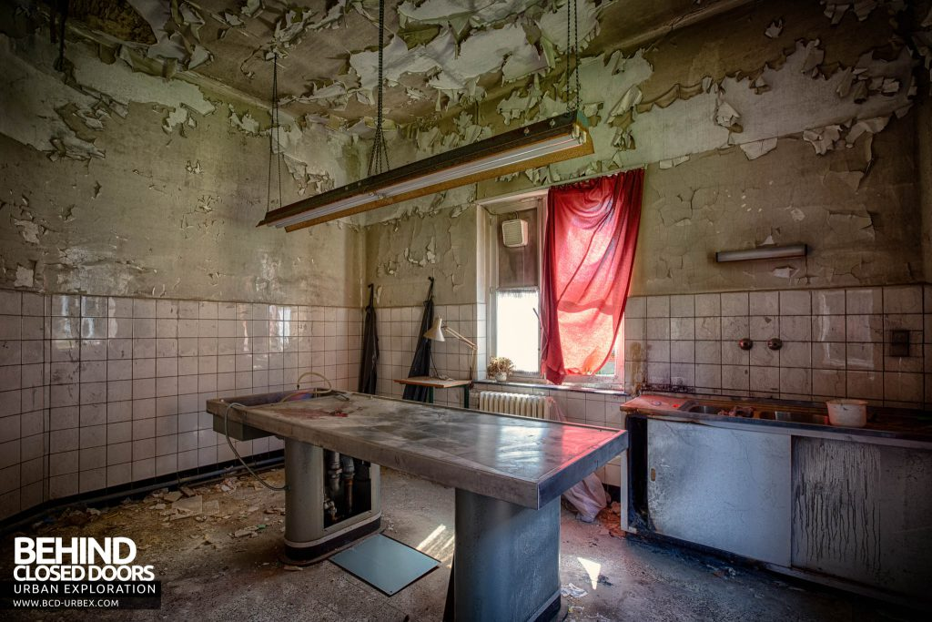Salve Mater Psychiatric Hospital - The hospitals mortuary