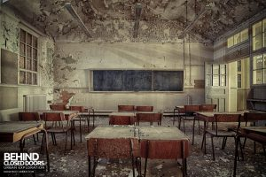 Easington Colliery Primary School - Decaying Classroom