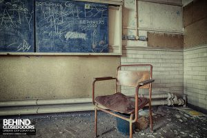 Easington Colliery Primary School - The teachers chair
