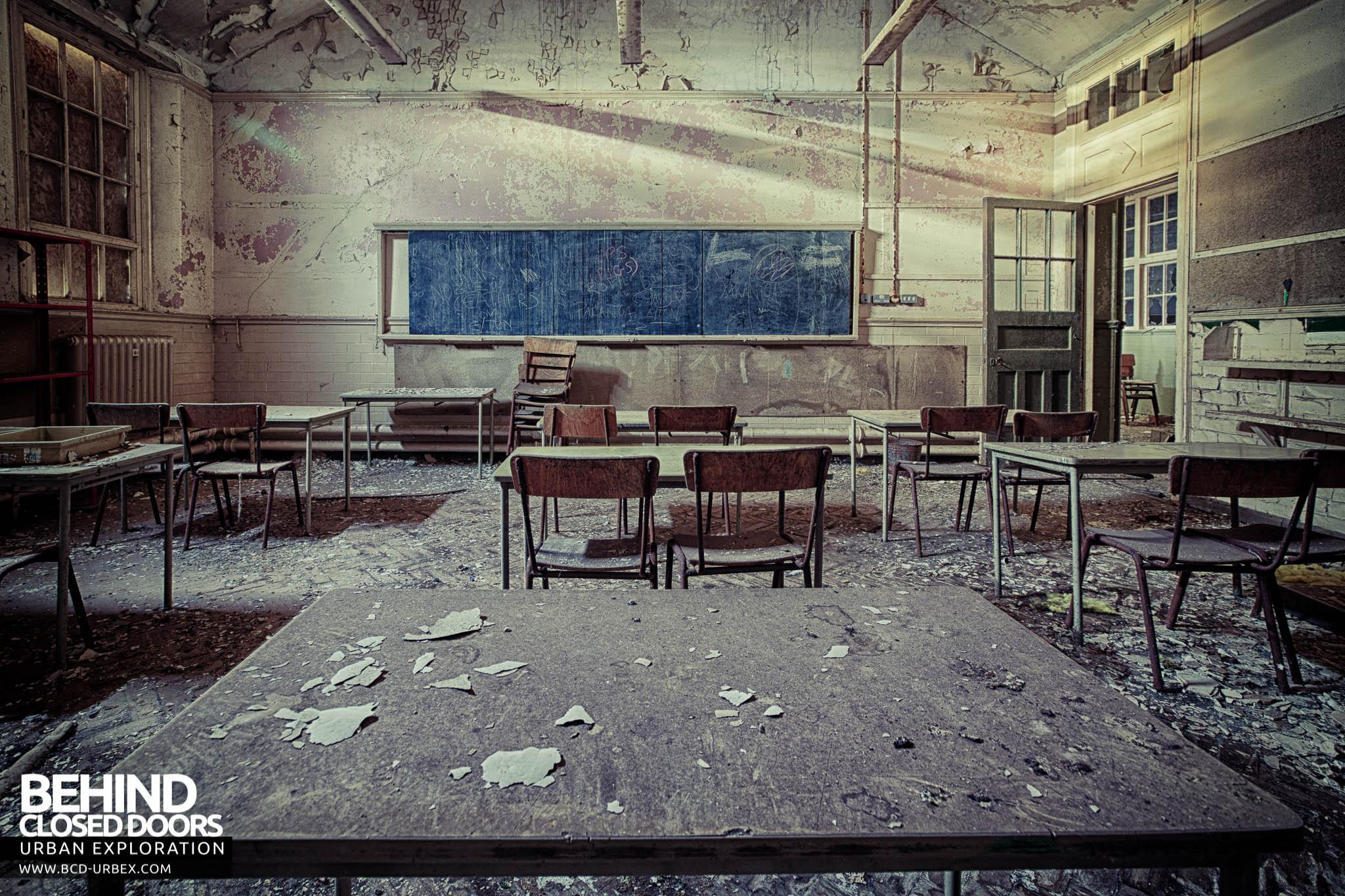 Easington Colliery Primary School Durham 187 Urbex Behind