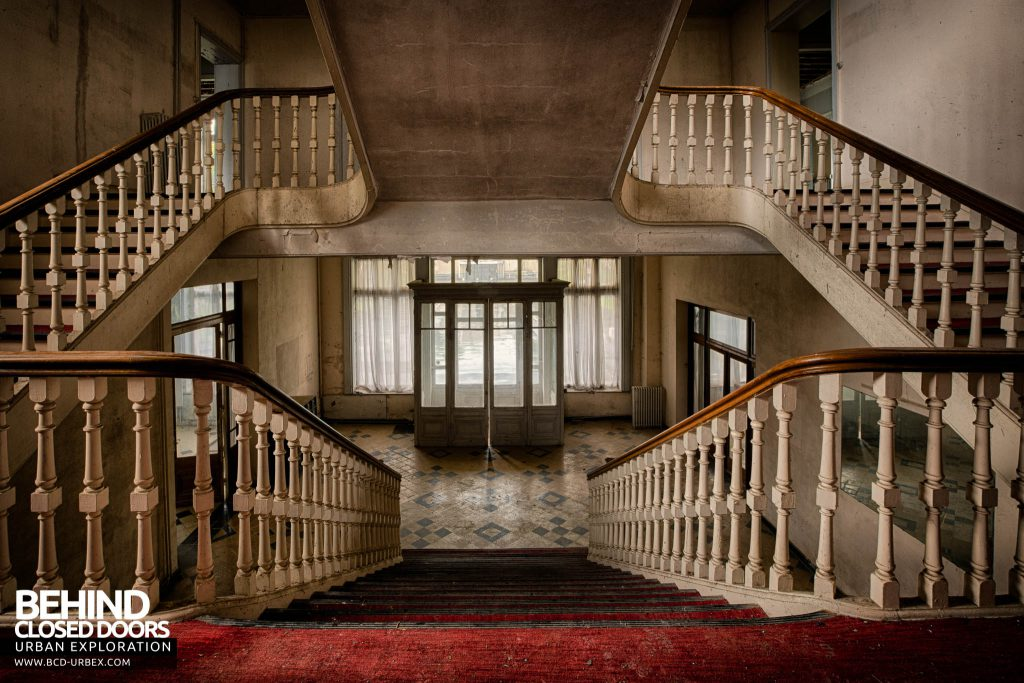 Hotel Thermale - View from on the stairs