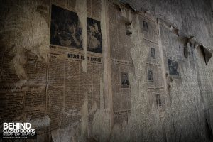 Blue Theatre Hospital - Newspaper wallpaper