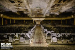 CCCP Flight School - Theatre from the stage