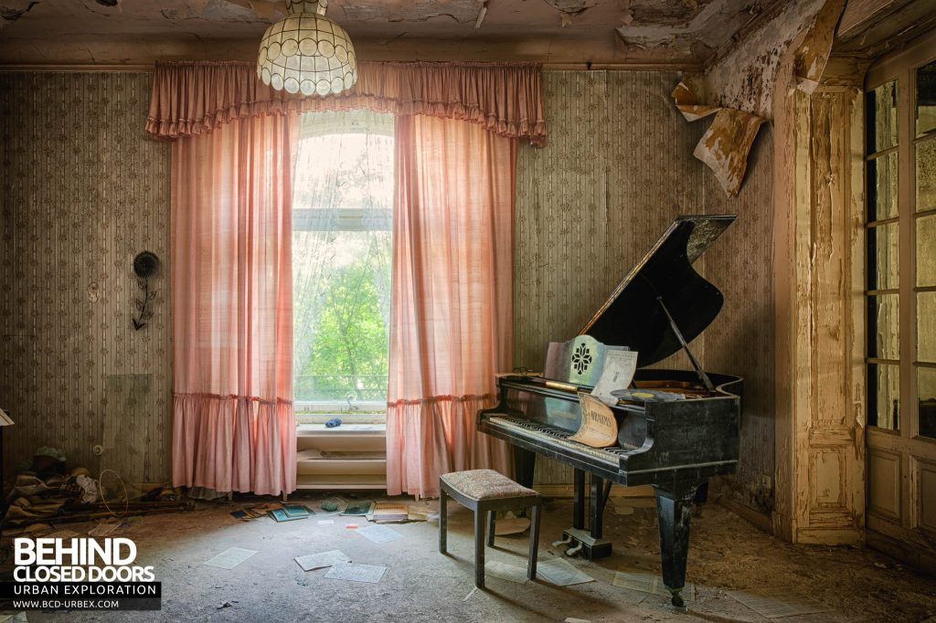 Dr Annas House and Surgery - Grand piano in a grand room