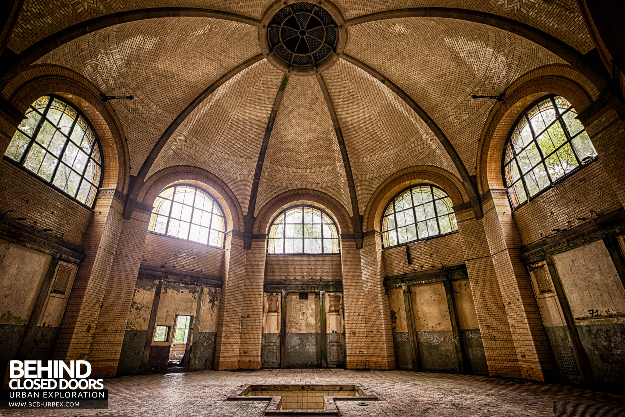 Beelitz Heilstatten Bath House Main Bathing Room