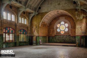 Beelitz Heilstätten Male Pavilion - Main Hall