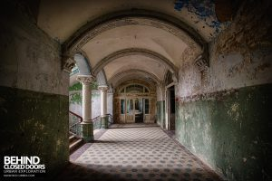 Beelitz Heilstätten Male Pavilion - Corridor