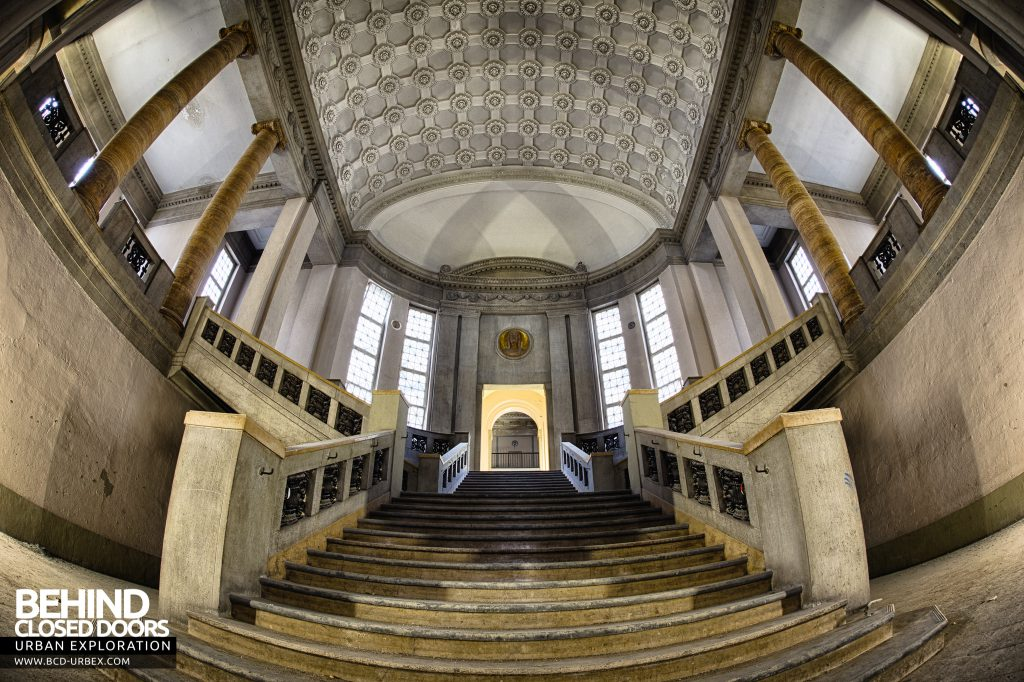 Courthouse Germany - View from bottom of staircase