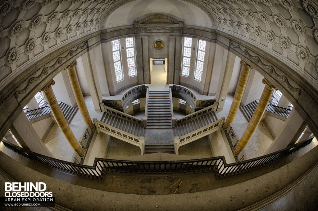 Courthouse Germany - Looking down from the top