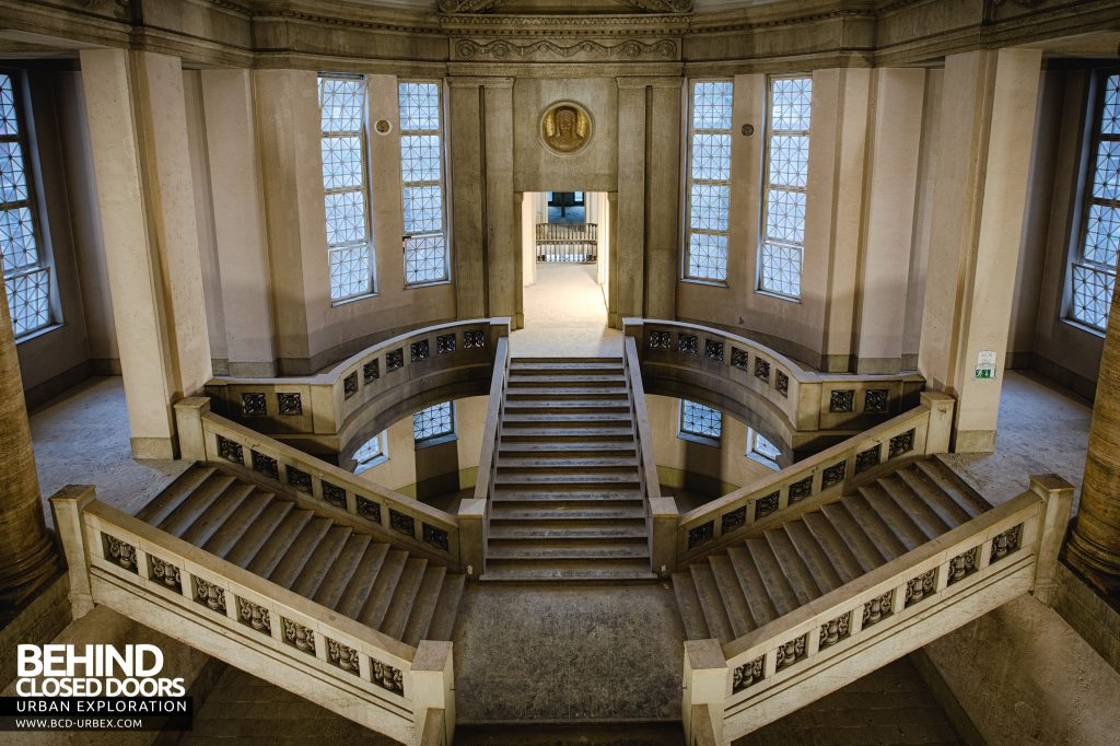 Courthouse Germany - Overview of the staircase