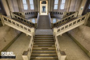 Courthouse Germany - Central staircase
