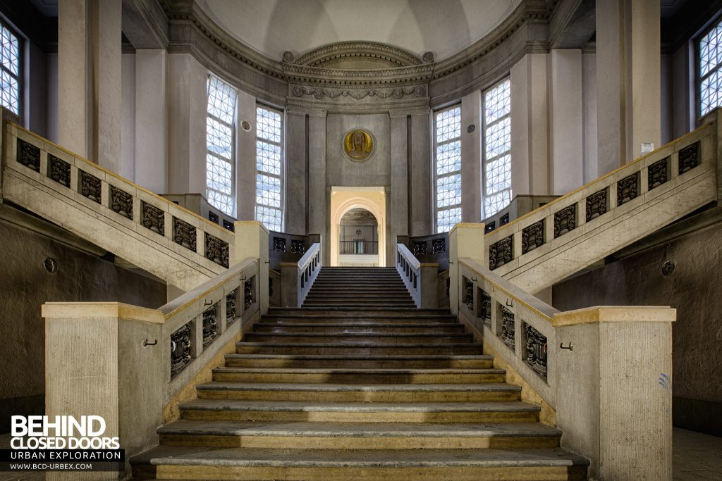 Courthouse Germany - View up the central staircase