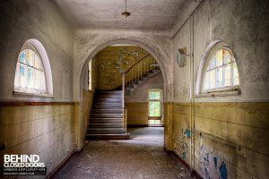 Wunsdorf - Staircase in corridor