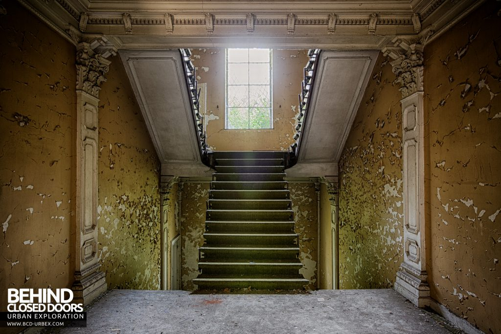 Chateau Rochendaal - View from on the stairs