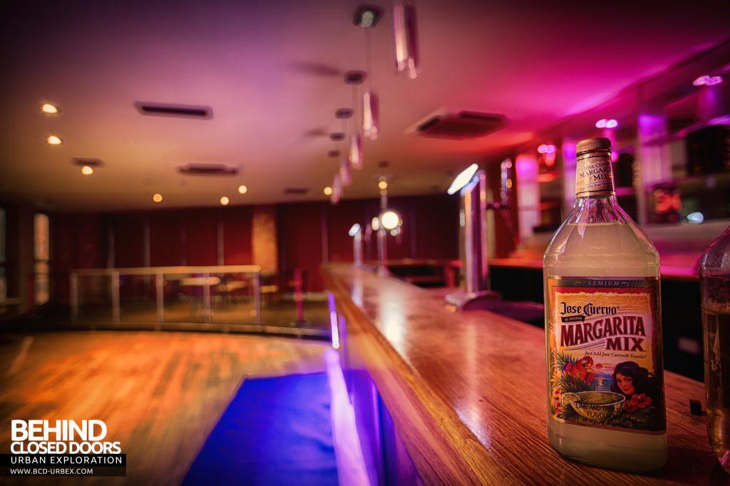 D9 Nightclub - Bottles on the bar