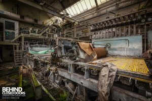 Fletchers Paper Mill - Rolling machine