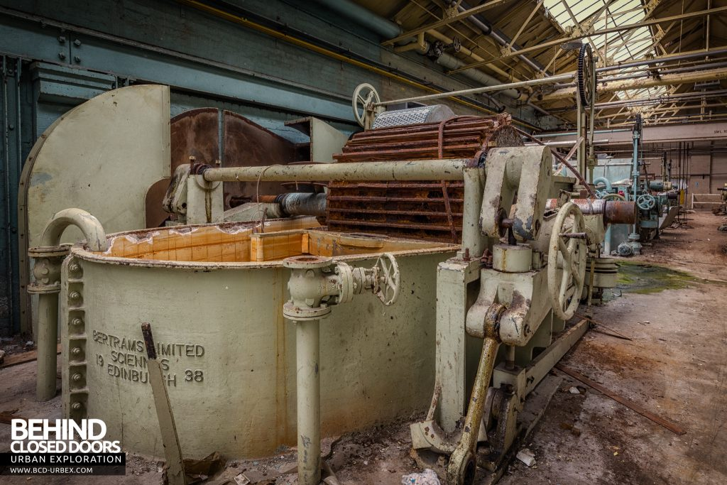 Fletchers Paper Mill - Machines for processing wood pulp