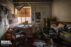 Fletchers Paper Mill - Cluttered office