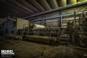 Fletchers Paper Mill - New rollers