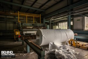 Fletchers Paper Mill - Giant roll of cigarette paper