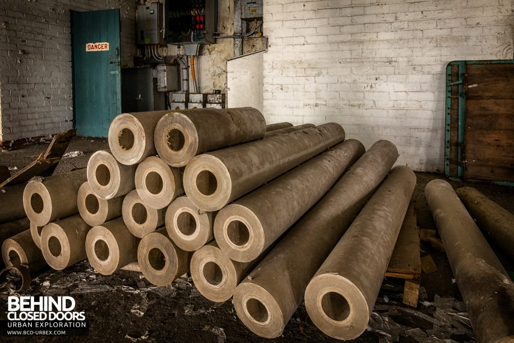 Fletchers Paper Mill - The finished product, rolls of paper