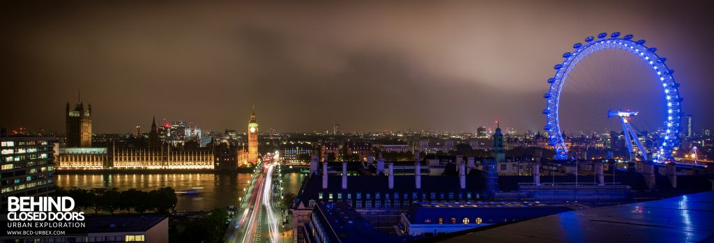 London Rooftops - Westminster and the London Eye