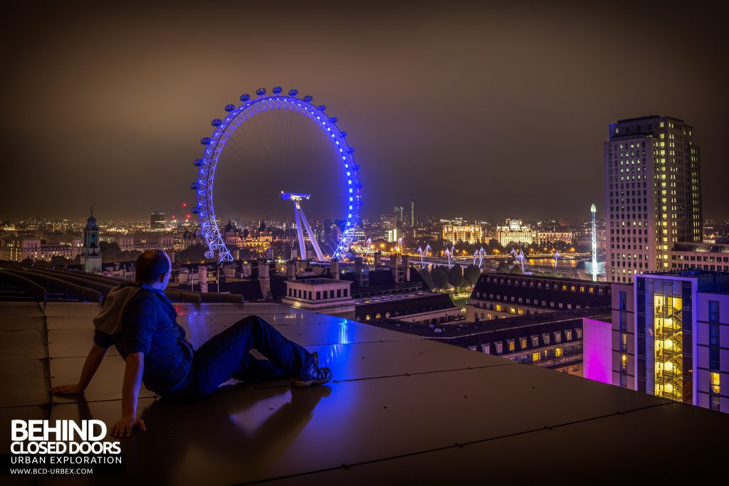 London Rooftops - Selfie with the London Eye