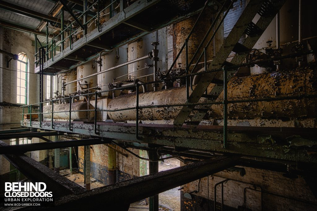 Grimsby Ice Factory - Ammonia storage tanks