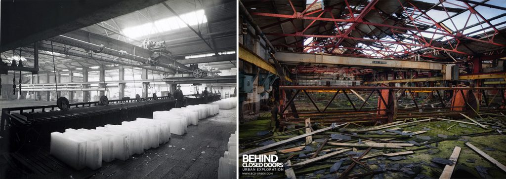 Grimsby Ice Factory Now and Then - Ice Tank Number 1