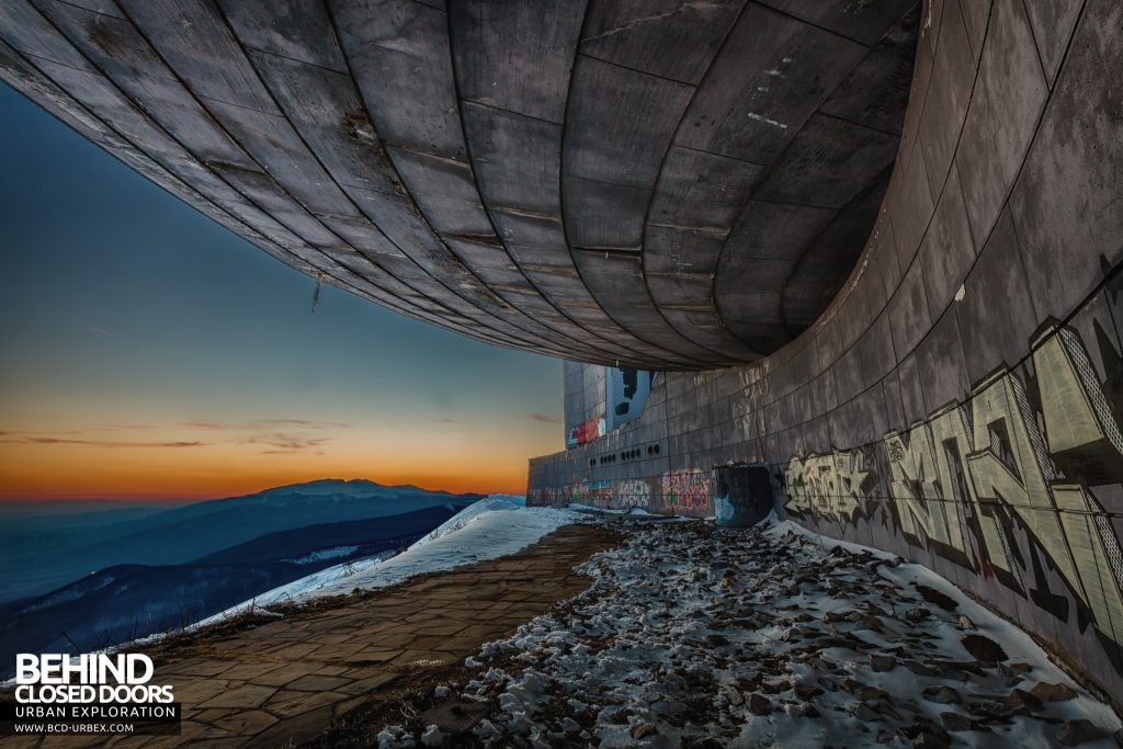Buzludzha - The sun sets on the communist dream