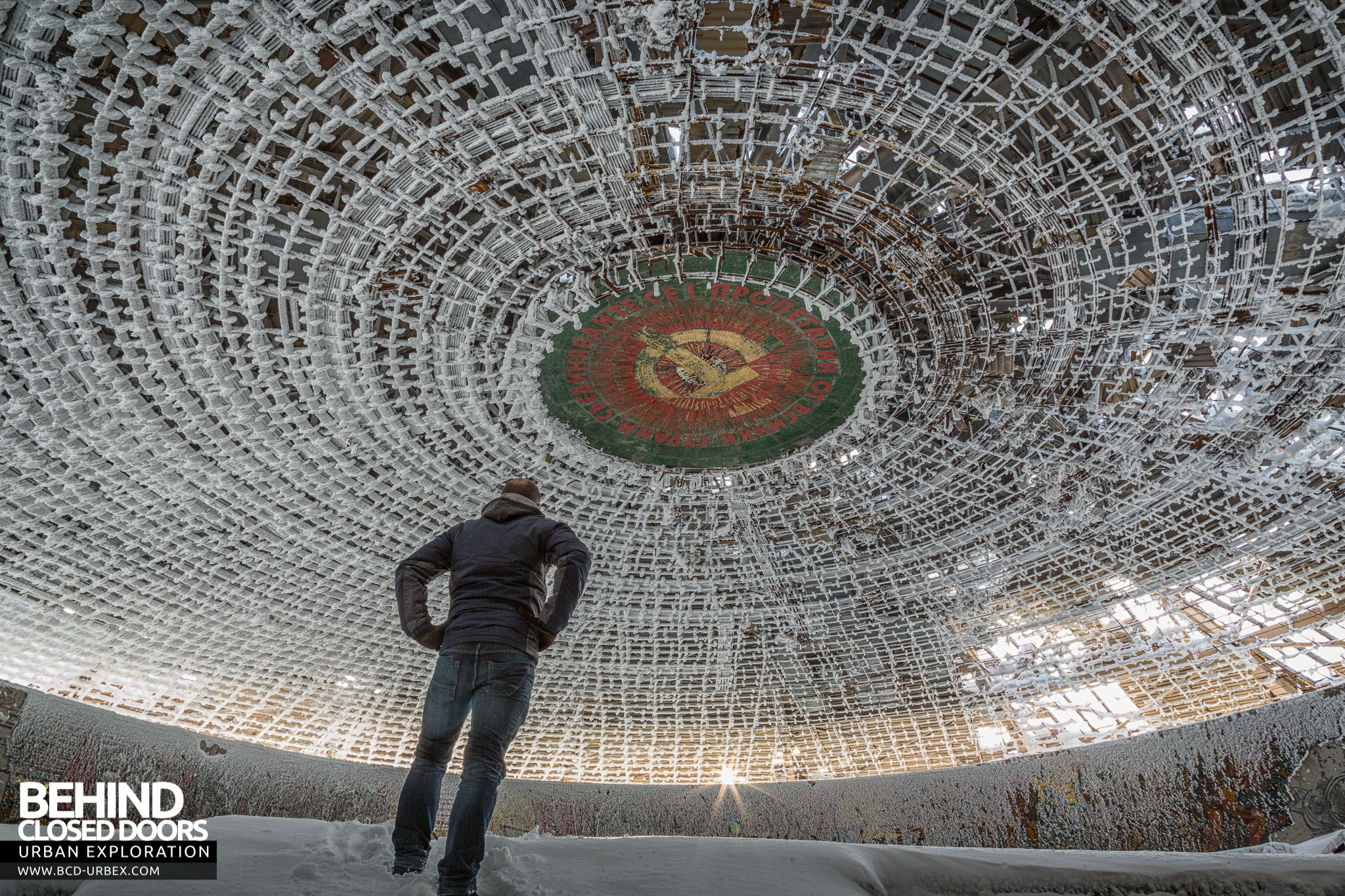 Buzludzha Communist Headquarters Monument Bulgaria