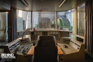 Zeche M Heinz Bergwerk, Germany - Second control room