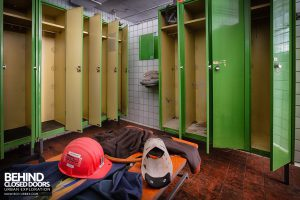 Zeche M Heinz Bergwerk, Germany - Locker room