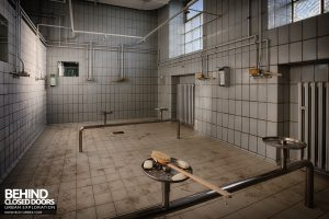 Zeche M Heinz Bergwerk, Germany - Showers