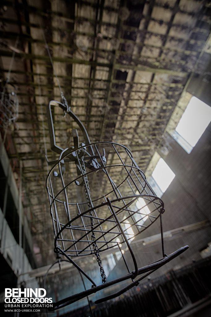 Bergwerk West Friedrich-Heinrich, Germany - Storage basket