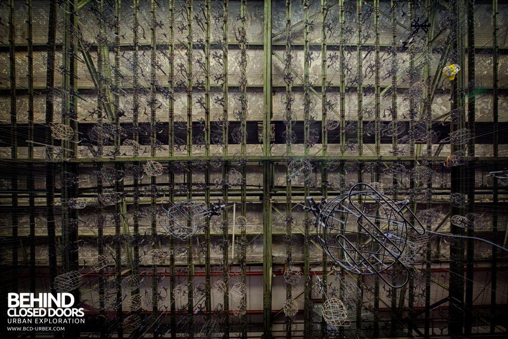 Bergwerk West Friedrich-Heinrich, Germany - There were several thousand baskets