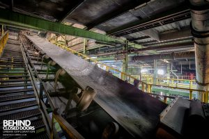 Zeche M Heinz Bergwerk, Germany - Conveyor network