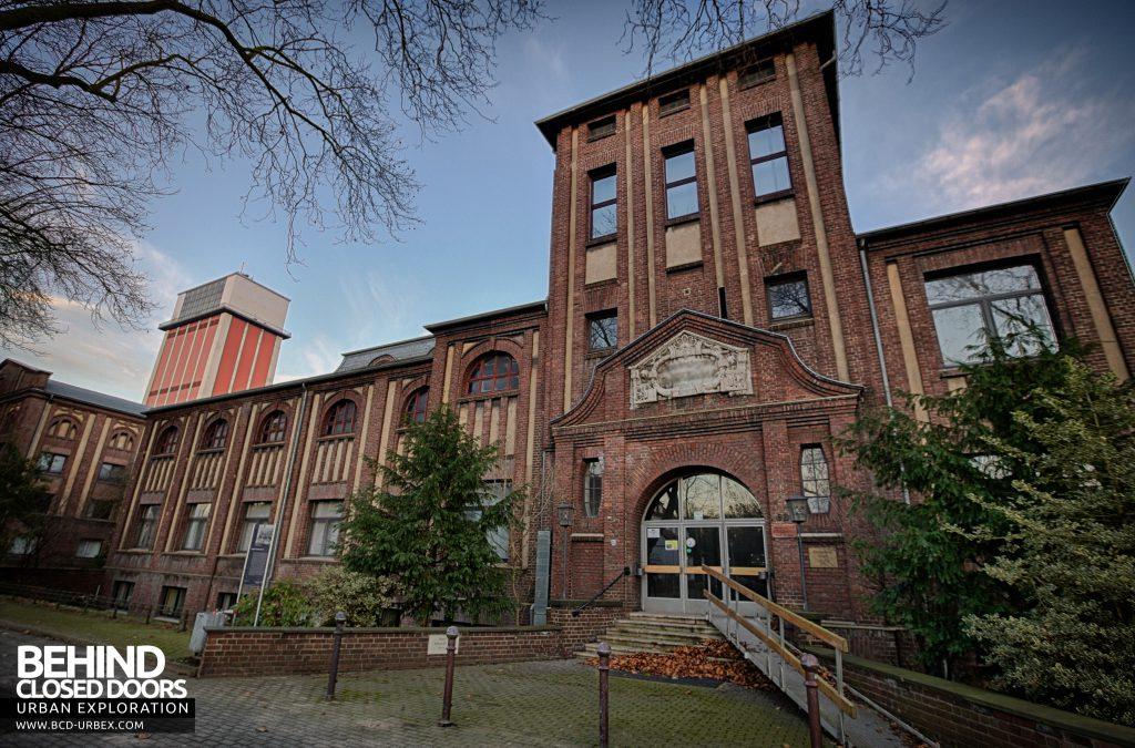 Bergwerk West Friedrich-Heinrich, Germany - Nice architecture on the older buildings