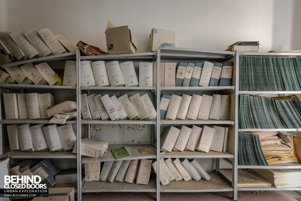Hospital SC, Italy - Patient records
