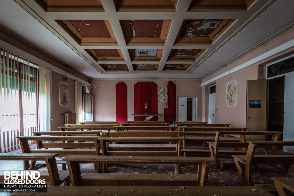 Hospital SC, Italy - The hospital's main chapel