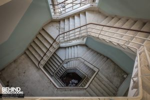 Hospital SC, Italy - View down stairs