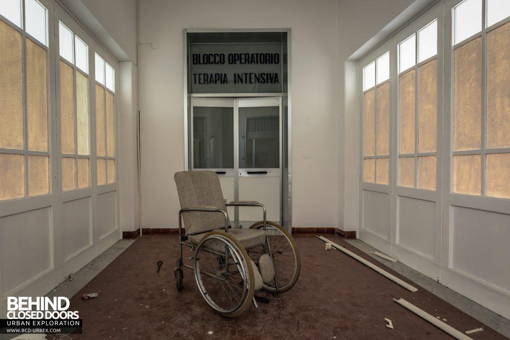 Hospital SC, Italy - Wheelchair