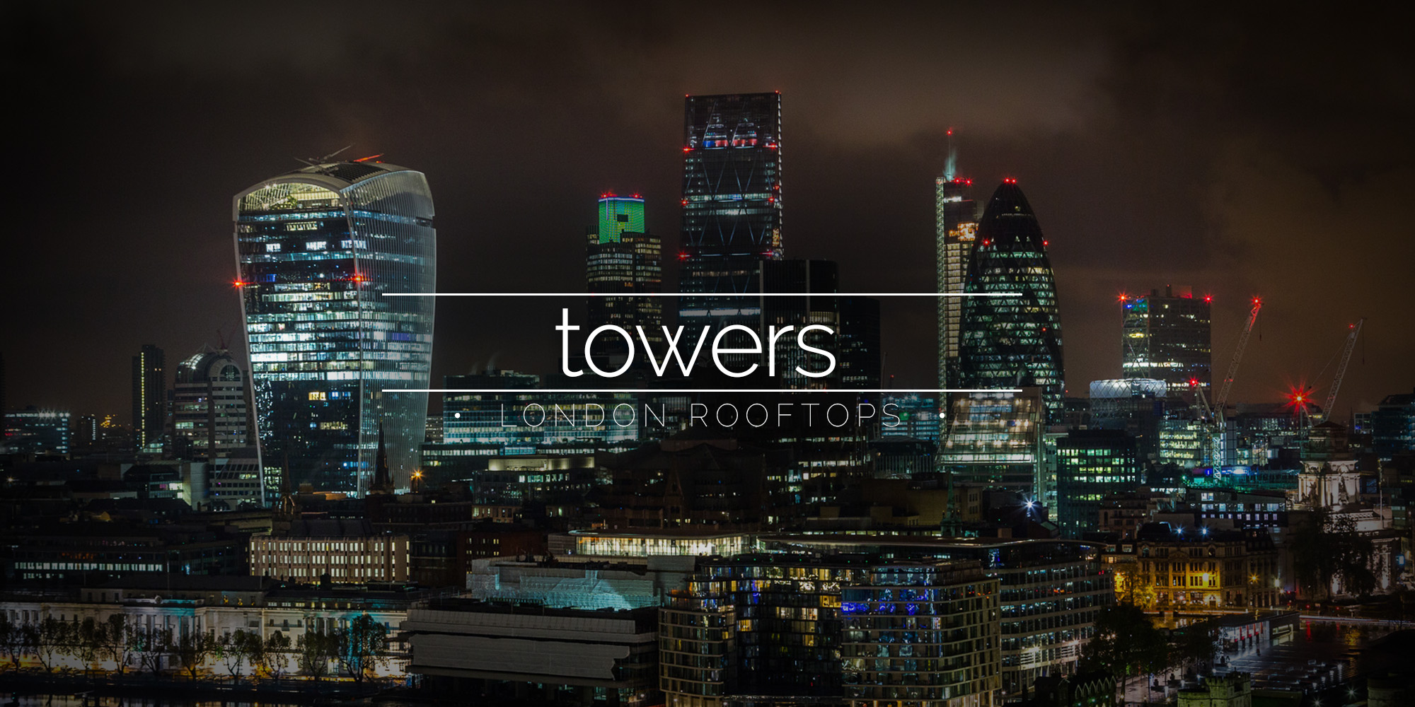Towers from Towers London Rooftops