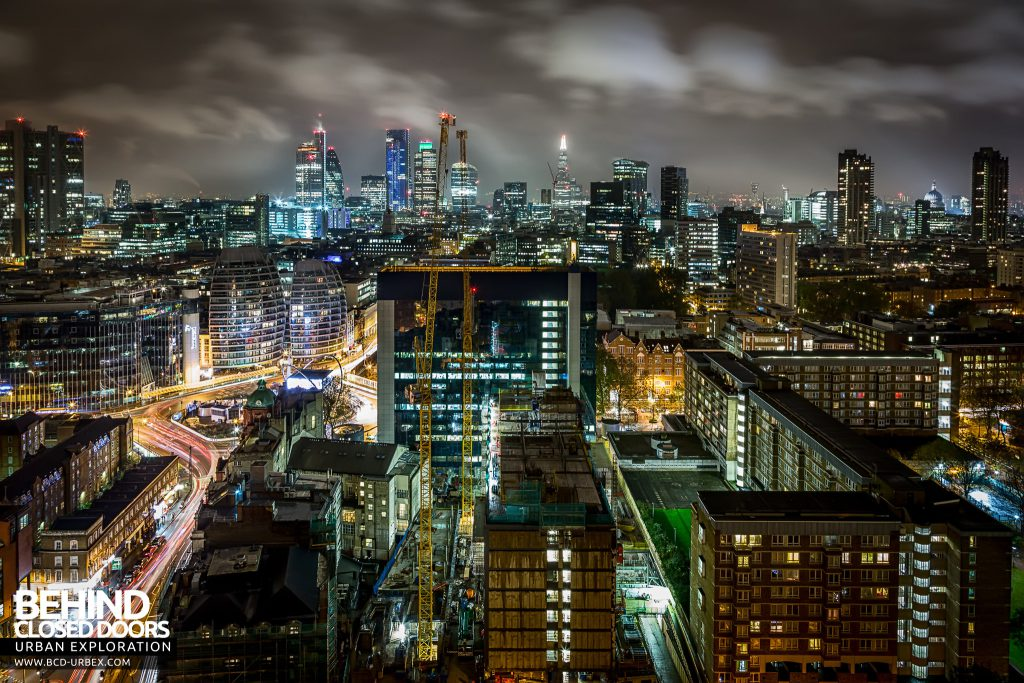 London Rooftops - Wider view of the city