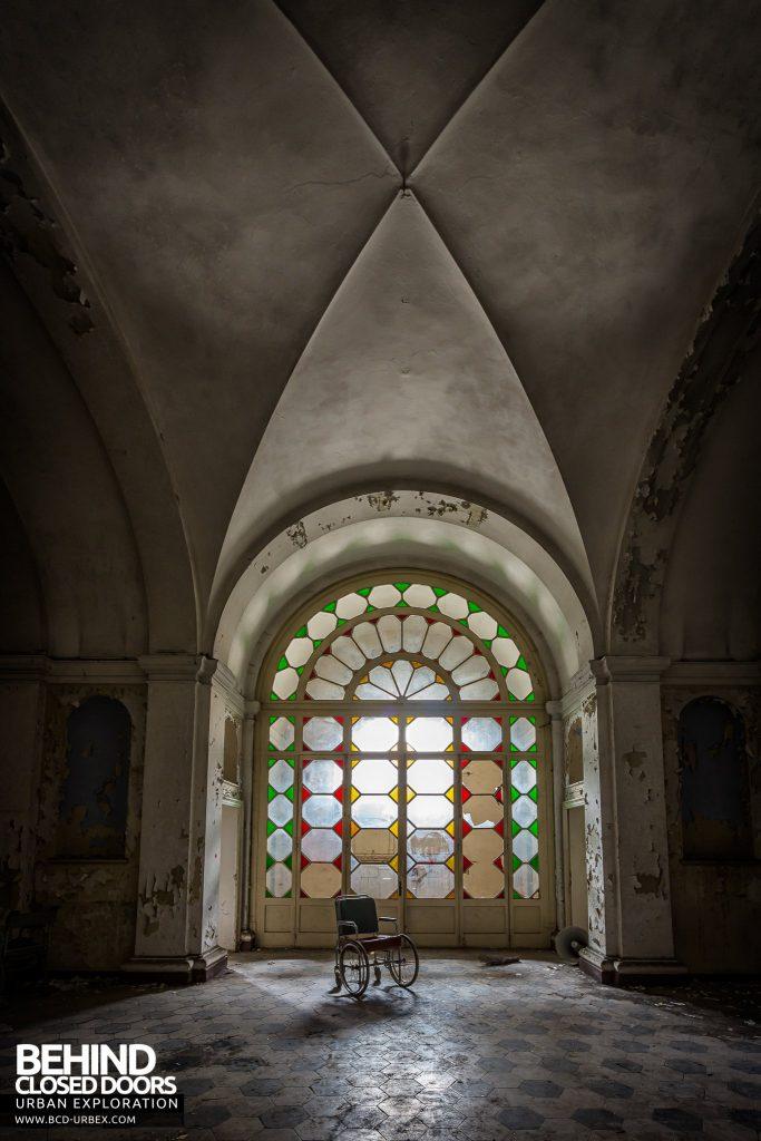 Manicomio di Colorno, Italy - Arched hallway
