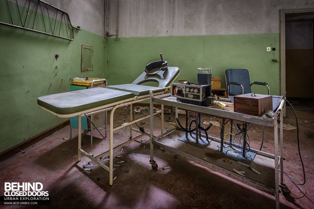 Manicomio di Colorno, Italy - Electroshock therapy equipment