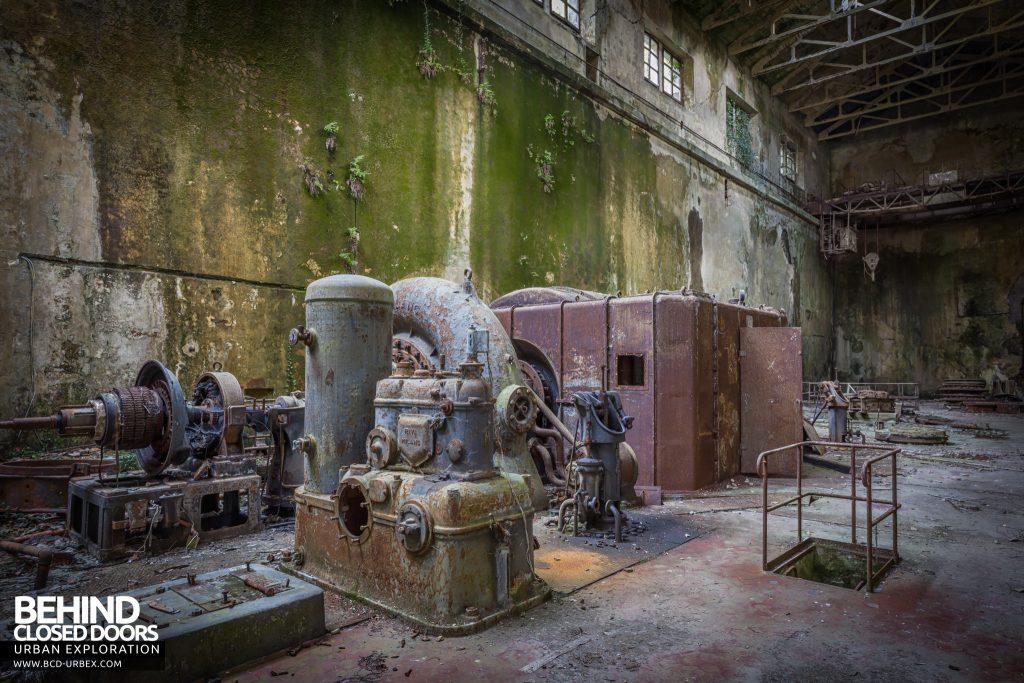 Centrale Idroelettrica, Italy - Hydroelectric turbine
